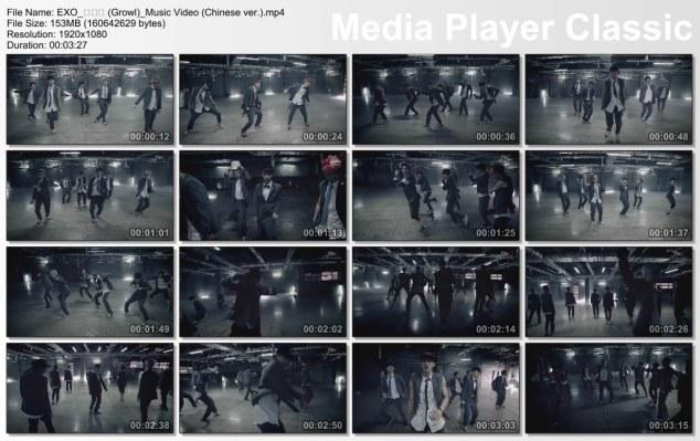 EXO_으르렁 (Growl)_Music Video (Chinese ver